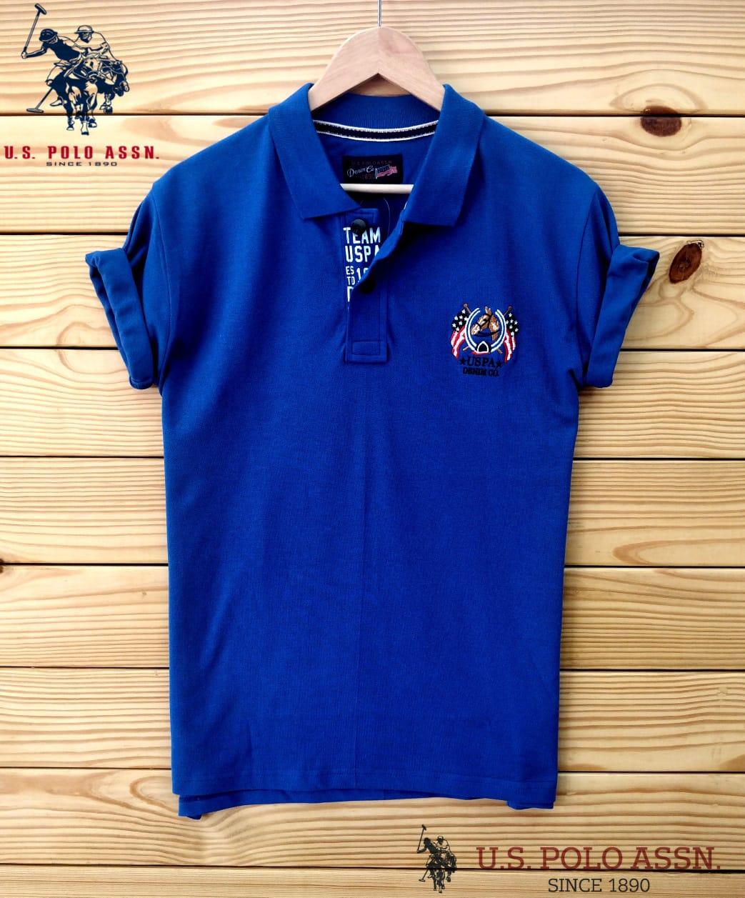 USP Men's Polo T-Shirt