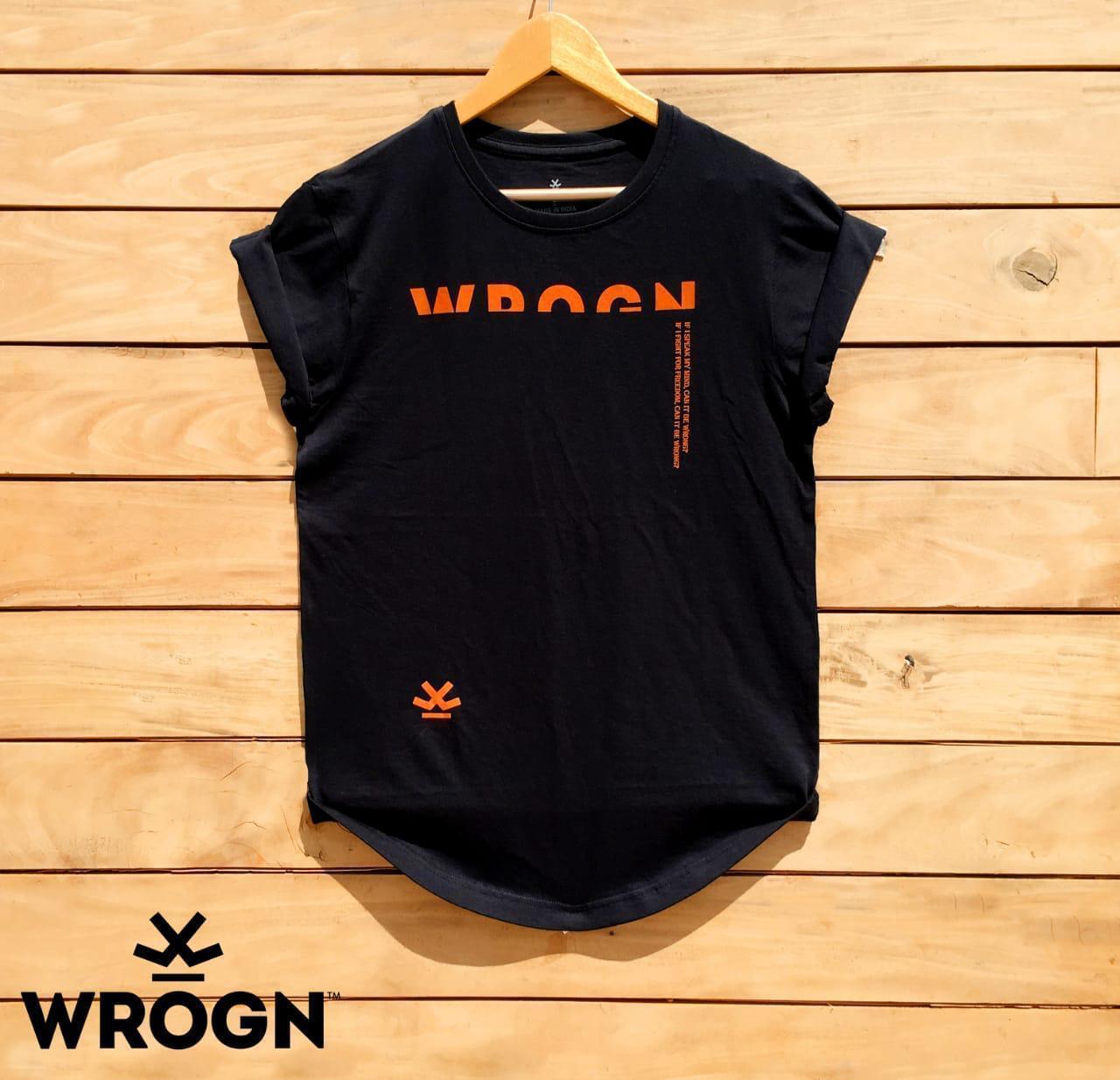 WRN Men's Round  Neck  T-Shirt